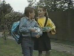 Toby Mangel, Katie Landers in Neighbours Episode 0986