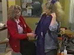 Madge Bishop, Sharon Davies in Neighbours Episode 0986