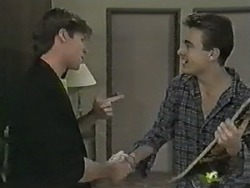 Mike Young, Nick Page in Neighbours Episode 0987