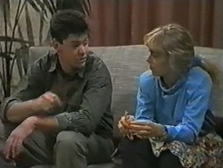 Joe Mangel, Jane Harris in Neighbours Episode 0988