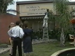 Jane Harris, Paul Robinson, Gail Robinson in Neighbours Episode 0988
