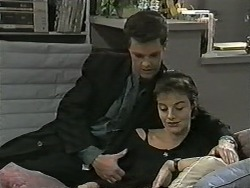 Paul Robinson, Gail Robinson in Neighbours Episode 0991