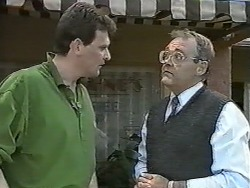 Des Clarke, Harold Bishop in Neighbours Episode 0991