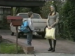 Toby Mangel, Kerry Bishop in Neighbours Episode 0991