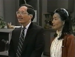 Mr Udagawa, Mrs Udagawa in Neighbours Episode 0991
