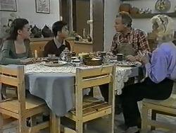Alison Ryder, Todd Landers, Jim Robinson, Helen Daniels in Neighbours Episode 0992