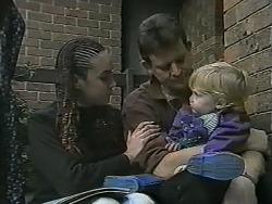 Kerry Bishop, Des Clarke, Jamie Clarke in Neighbours Episode 0992