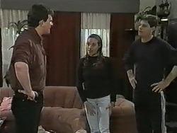 Des Clarke, Kerry Bishop, Joe Mangel in Neighbours Episode 0992