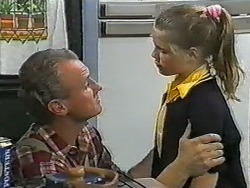 Jim Robinson, Katie Landers in Neighbours Episode 0993