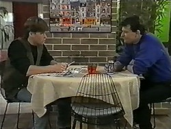 Mike Young, Des Clarke in Neighbours Episode 0995