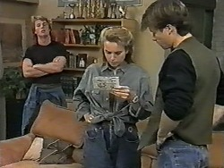 Henry Ramsay, Bronwyn Davies, Mike Young in Neighbours Episode 0995