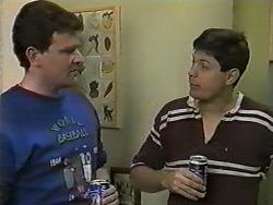 Des Clarke, Joe Mangel in Neighbours Episode 0995