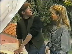 Mike Young, Bronwyn Davies in Neighbours Episode 0995