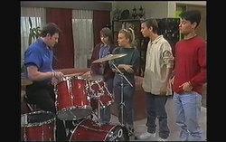 Des Clarke, Cody Willis, Melissa Jarrett, Todd Landers, Josh Anderson in Neighbours Episode 1242