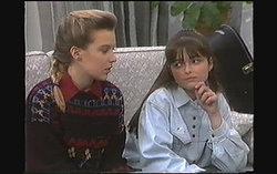 Melissa Jarrett, Cody Willis in Neighbours Episode 1243