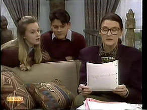 Melissa Jarrett, Josh Anderson, Dorothy Burke in Neighbours Episode 1281