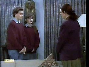 Todd Landers, Cody Willis, Dorothy Burke in Neighbours Episode 1281