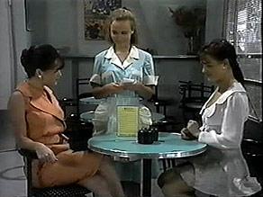 Christina Robinson, Gemma Ramsay, Caroline Alessi in Neighbours Episode 1397