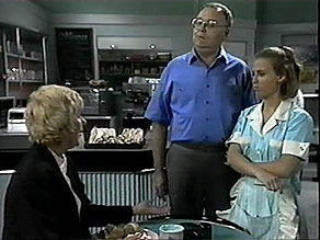 Madge Bishop, Harold Bishop, Gemma Ramsay in Neighbours Episode 1397