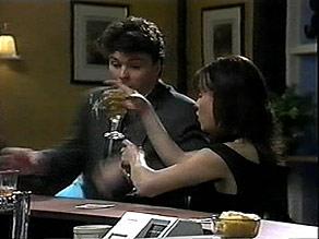 Phil Hoffman, Caroline Alessi in Neighbours Episode 1397
