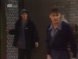 Rick Alessi, Michael Martin in Neighbours Episode 1997