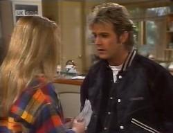 Lauren Carpenter, Connor Cleary in Neighbours Episode 1998