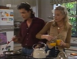 Wayne Duncan, Annalise Hartman in Neighbours Episode 1999