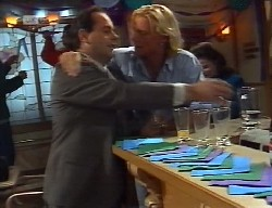 Philip Martin, Brad Willis, Julie Robinson in Neighbours Episode 1999