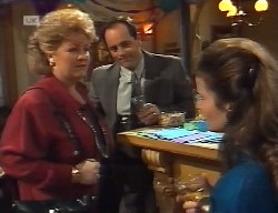 Cheryl Stark, Philip Martin, Julie Robinson in Neighbours Episode 1999
