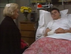 Helen Daniels, Michael Martin in Neighbours Episode 1999