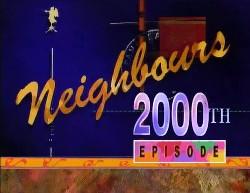 in Neighbours Episode 2000