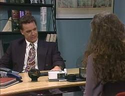 Paul Robinson, Gaby Willis in Neighbours Episode 2000