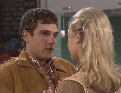 Mark Gottlieb, Annalise Hartman in Neighbours Episode 2000