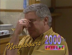Lou Carpenter in Neighbours Episode 2000