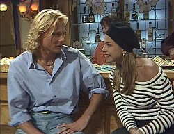 Brad Willis, Pam Willis, Lucy Robinson in Neighbours Episode 2000