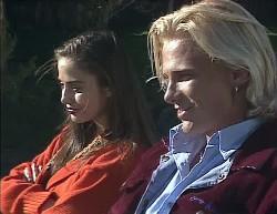 Beth Brennan, Brad Willis in Neighbours Episode 2000