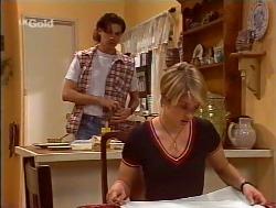 Sam Kratz, Danni Stark  in Neighbours Episode 2236