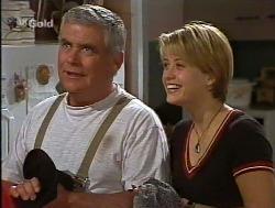 Lou Carpenter, Danni Stark  in Neighbours Episode 2236