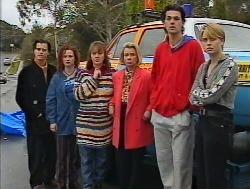 Rick Alessi, Cody Willis, Pam Willis, Helen Daniels, Sam Kratz, Danni Stark  in Neighbours Episode 2236