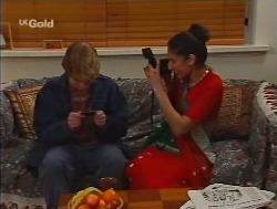 Brett Stark, Lata Chatterji in Neighbours Episode 2237