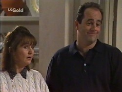 Pam Willis, Philip Martin in Neighbours Episode 2239