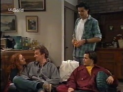 Ren Gottlieb, Paulo Cechero, Sam Kratz, Rick Alessi in Neighbours Episode 2239