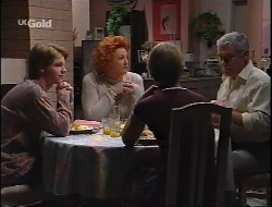 Brett Stark, Cheryl Stark, Danni Stark, Lou Carpenter in Neighbours Episode 2291