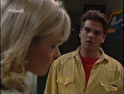 Annalise Hartman, Mark Gottlieb in Neighbours Episode 2291