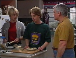 Danni Stark, Brett Stark, Lou Carpenter in Neighbours Episode 2291