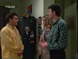 Mark Gottlieb, Annalise Hartman, Elliot Patterson in Neighbours Episode 2291