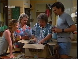 Bianca Zanotti, Helen Daniels, Marlene Kratz, Sam Kratz in Neighbours Episode 2307