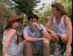 Bianca Zanotti, Sam Kratz, Malcolm Kennedy in Neighbours Episode 2307