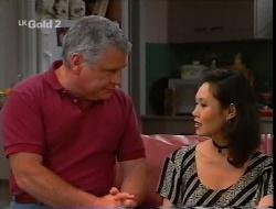 Lou Carpenter, Ling-Mai Chan in Neighbours Episode 2307