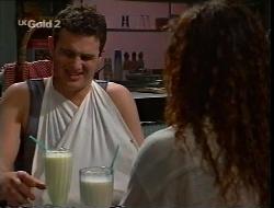 Stonie Rebecchi, Cody Willis in Neighbours Episode 2307